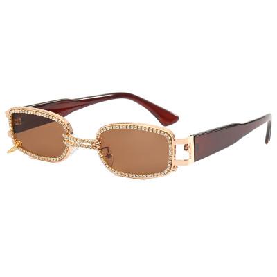 Sparkling Vintage Crystal Sunglasses