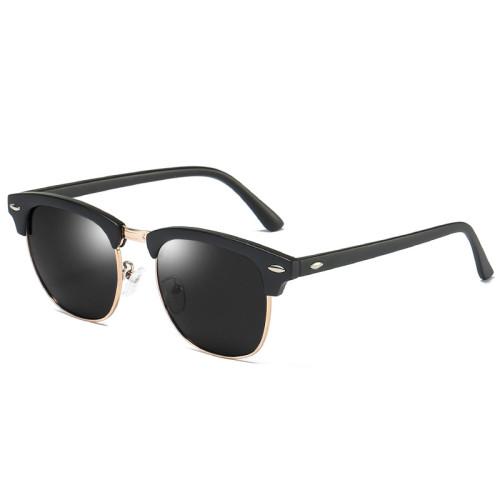 Classic Polarized Half-rim Sunglasses