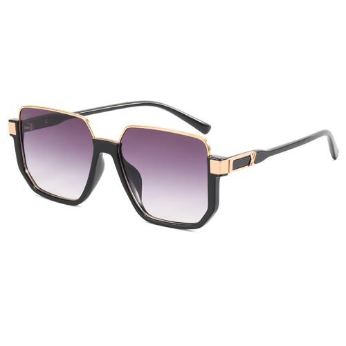 Fashion Half Frame UV400 Sunglasses