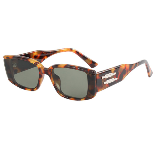 Vintage Plastic Rectangle Sunglasses