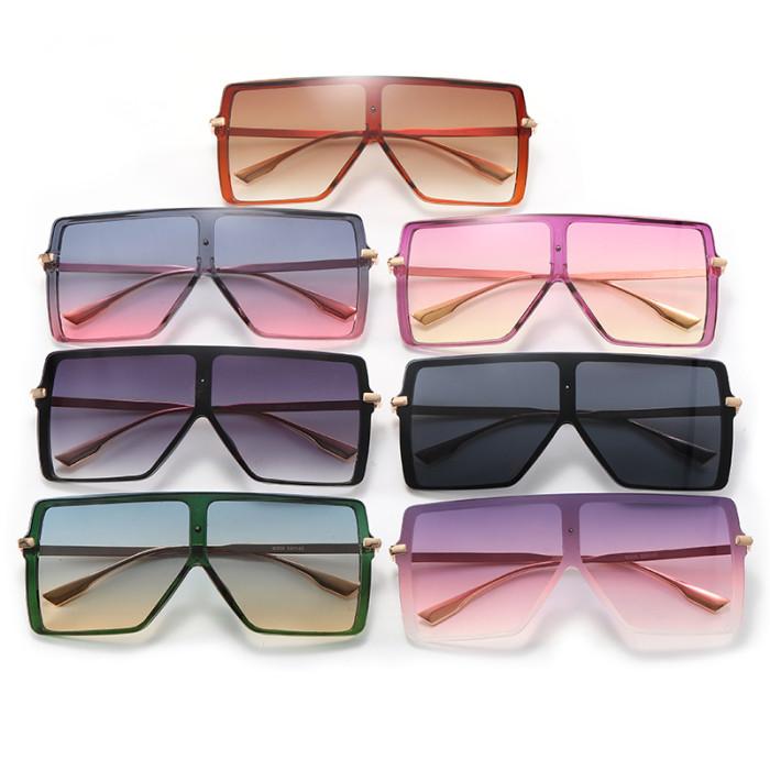 Big Square Oversized Shades Sunglasses