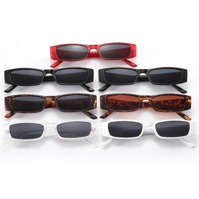 Fashion 2021 Small Rectangle Shades Sunglasses