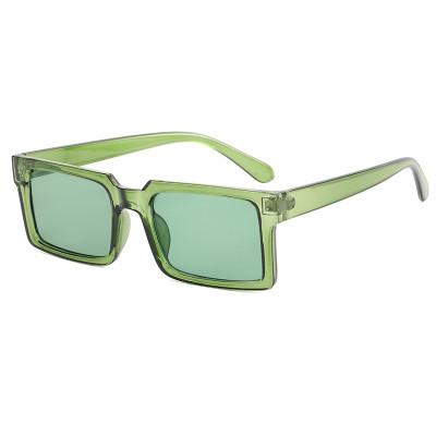 Rectangle Men Women Sunglasses