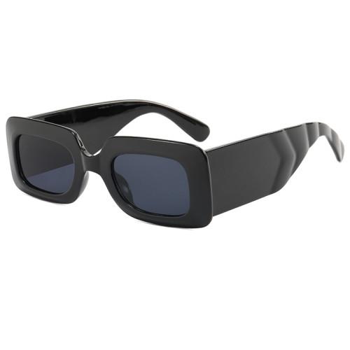 Rectangle Men Women Fashion Trendy Sunglasses