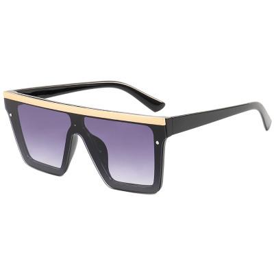 Flat Top Men Women UV400 Sunglasses