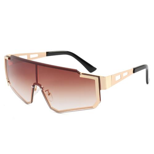 One Piece Tinted Lens UV400 Sunglasses
