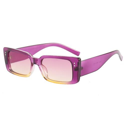 Vintage Rectangle Men Women Sunglasses