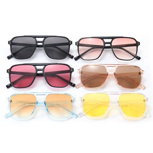 TR90 Frame Flat Top Sunglasses