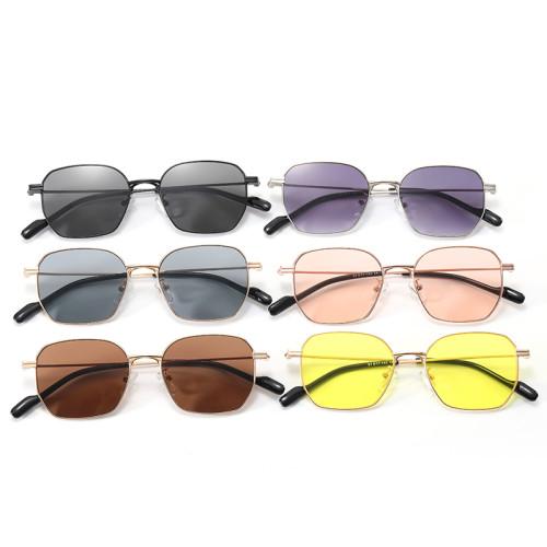 Retro Vintage Metal Frame Men Women UV400 Sunglasses
