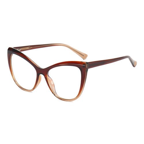 Women Oversize Cat Eye Blue Light Blocking Glasses