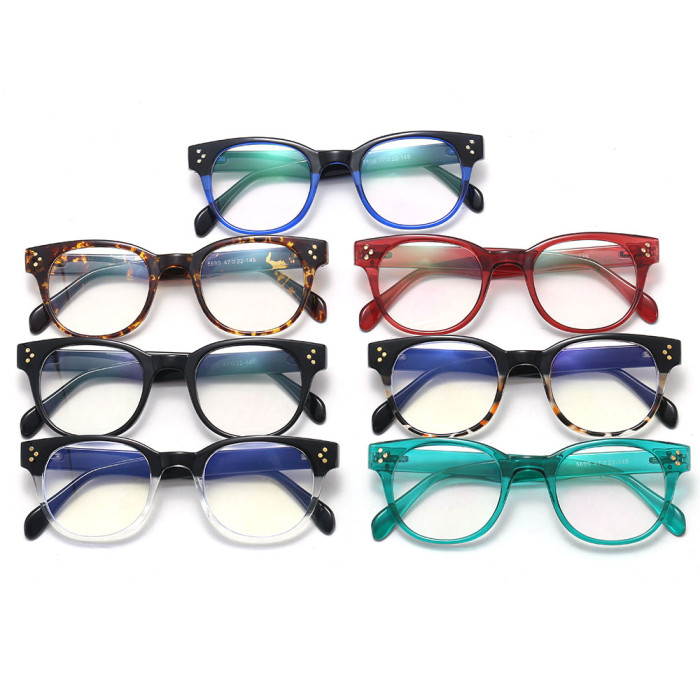 Retro Vintage Blue Light Blocking Glasses