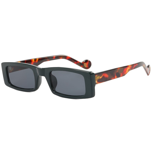 Retro Vintage Rectangle Sunglasses