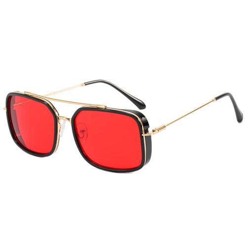 Metal Frame UV400 Gradient Men Shades Sunglasses