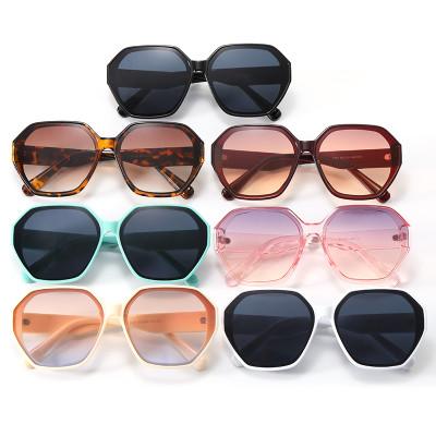 UV400 Polygon Shades Sunglasses