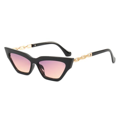 Lady Women's Retro Vintage Small Cat Eye Sunglasses