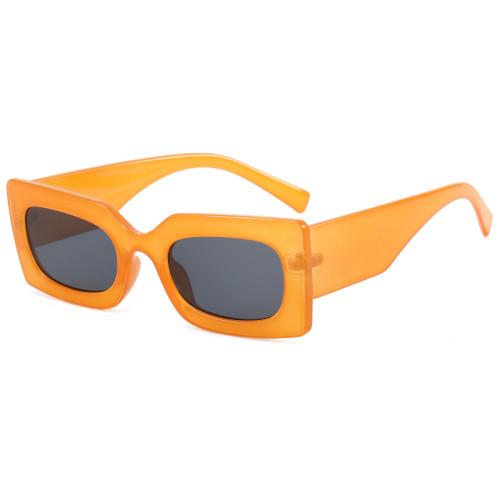 Men Women Small Rectangle Sunglasses