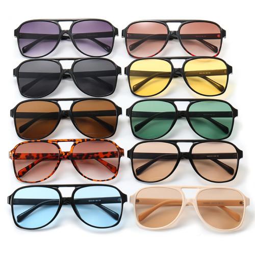 Fashion 2021 Flat Top Shades Sunglasses