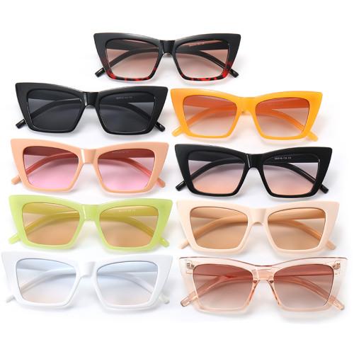 Vintage Square Cat Eye Women Trendy Sunglasses