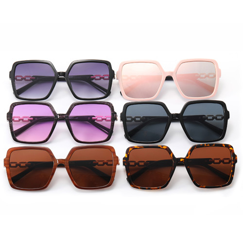 Square Oversized Women Gradient Shades Sunglasses