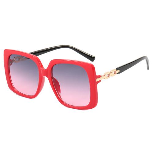 Square Oversized Gradient Shades Sunglasses