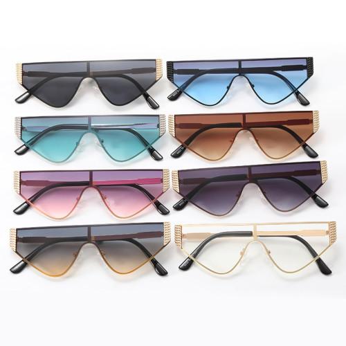 Flat Top One Piece Lens UV400 Shades Sunglasses