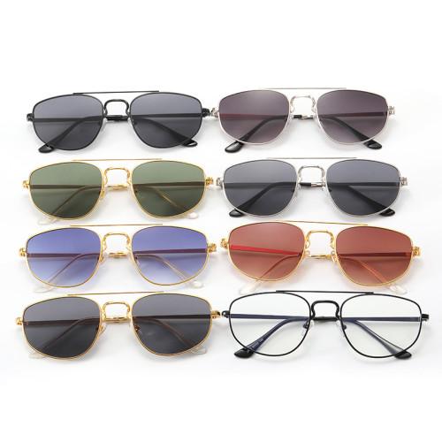 Retro Vintage Metal Frame Small Cat Eye Sunglasses
