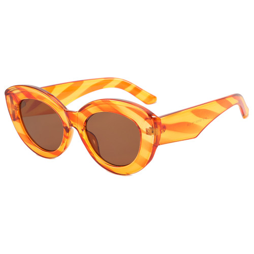 Oversized Women Cat Eye Shades Sunglasses