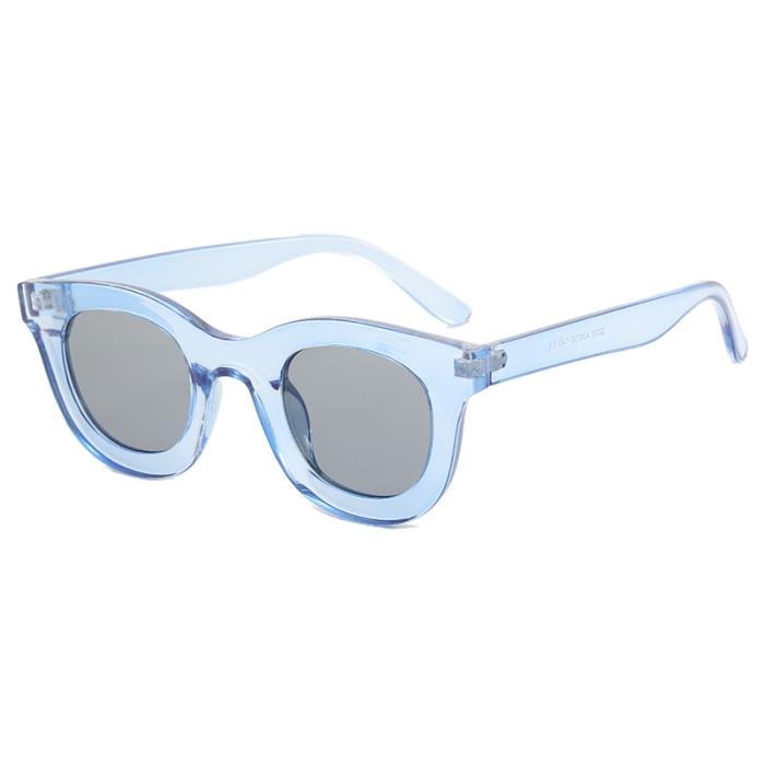 Vintage Women Square Trendy Cateye Sunglasses