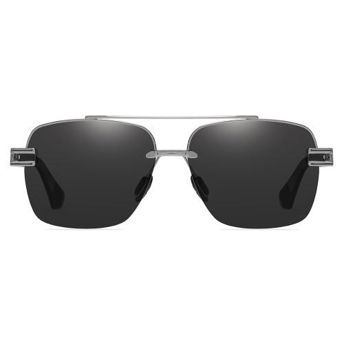 Polarized Half Frame Sunglasses