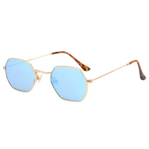 Polygon Shades Metal Frame Sunglasses