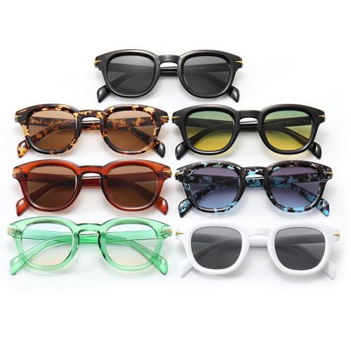 Men Women Retro Square Sunglasses