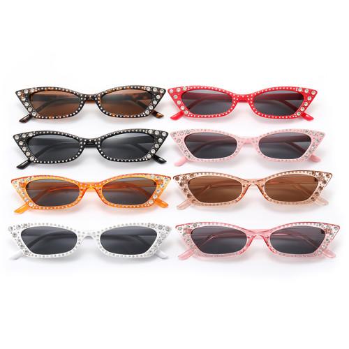 Cat Eye Bling Bling Women Rhinestones Sunglasses