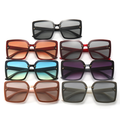 Women Square Gradient Shades Sunglasses