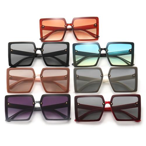 Trendy Square Oversized Women's Sunglasses