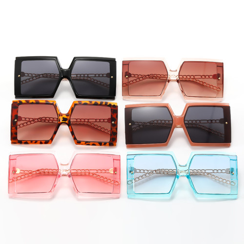 Oversized Square Shades Sunglasses
