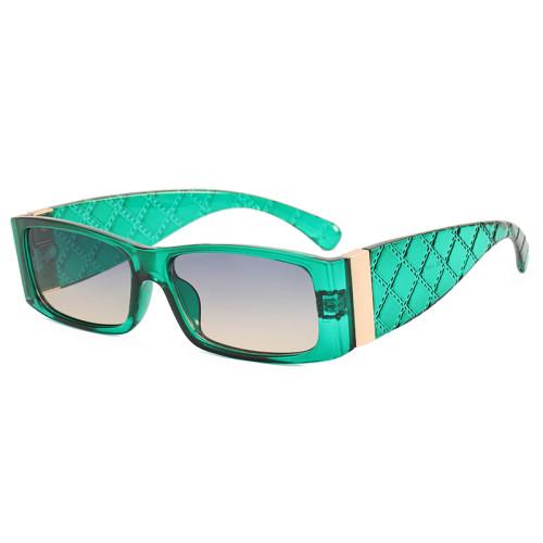 Luxury Retro Rectangle Sunglasses