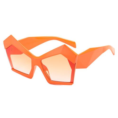 Polygon Oversized Women Shades Sunglasses