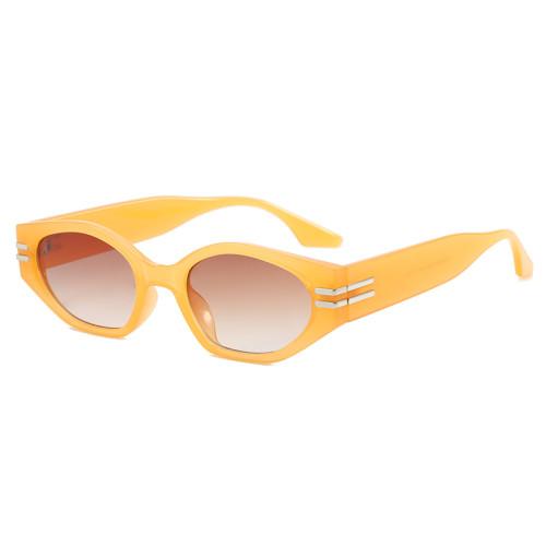 Plastic Small Oval Sunglasses