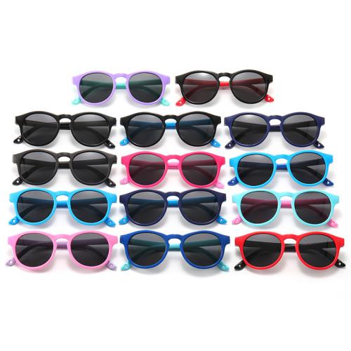Kids Silicone Frame Polarized Sunglasses