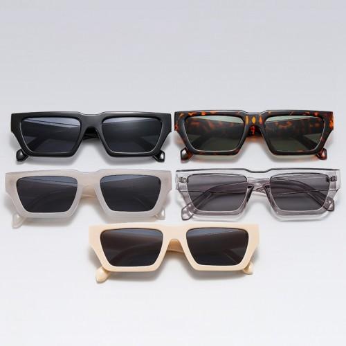 Women Rectangle Trendy Cateye Sunglasses