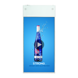 55 inch Double Side Hanging Touch Screen HD Lcd Advertising Player