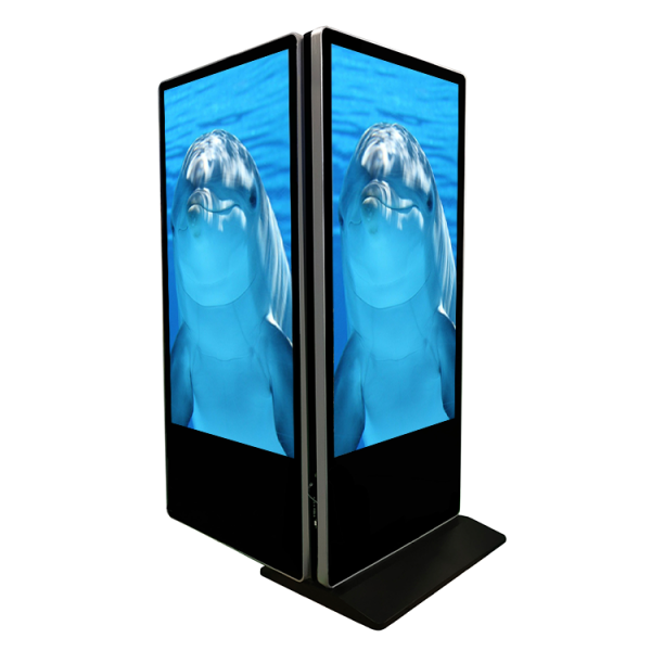 55 inch Vertical Double-Sided Display