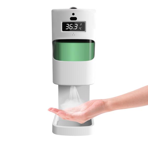 Touchless Electric Foam Smart Spray Alcohol Foam Gel Automatic Sensor IR sensing temperature Soap Dispenser Wall Mounted / Stand