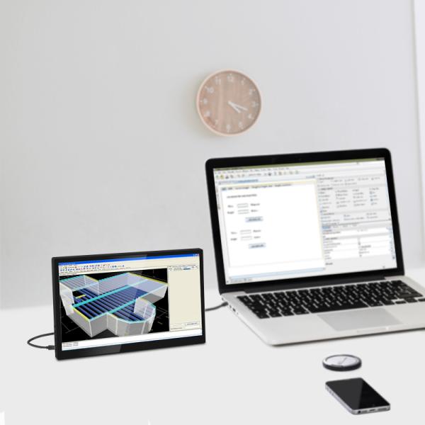 VIEWSHOCKER 2020 NEW 11.6  inch UHD Ultra Slim HDR IPS 2560x1440 Type-C Game Portable Monitor
