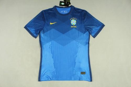 2020 Brazil Away Player Jersey