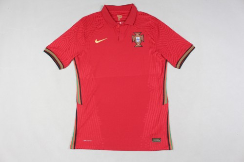 2020  Portugal Home Player Jersey
