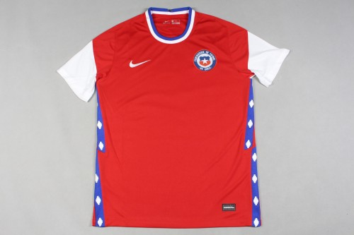 2020 Chile Home Fans Jersey