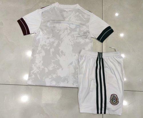 2020 Mexico Away White Kid Kit