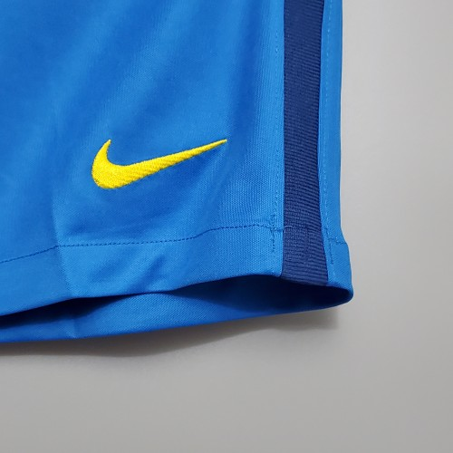 2020 Brazil Away Blue Shorts