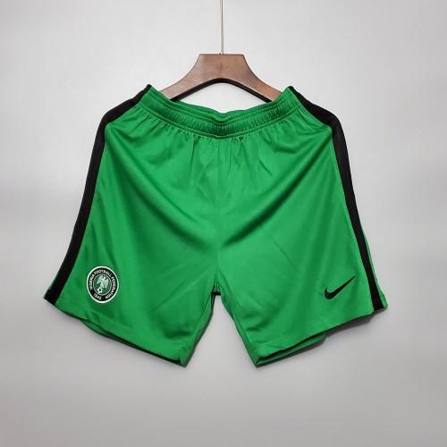 2020  Nigeria Home Green Shorts